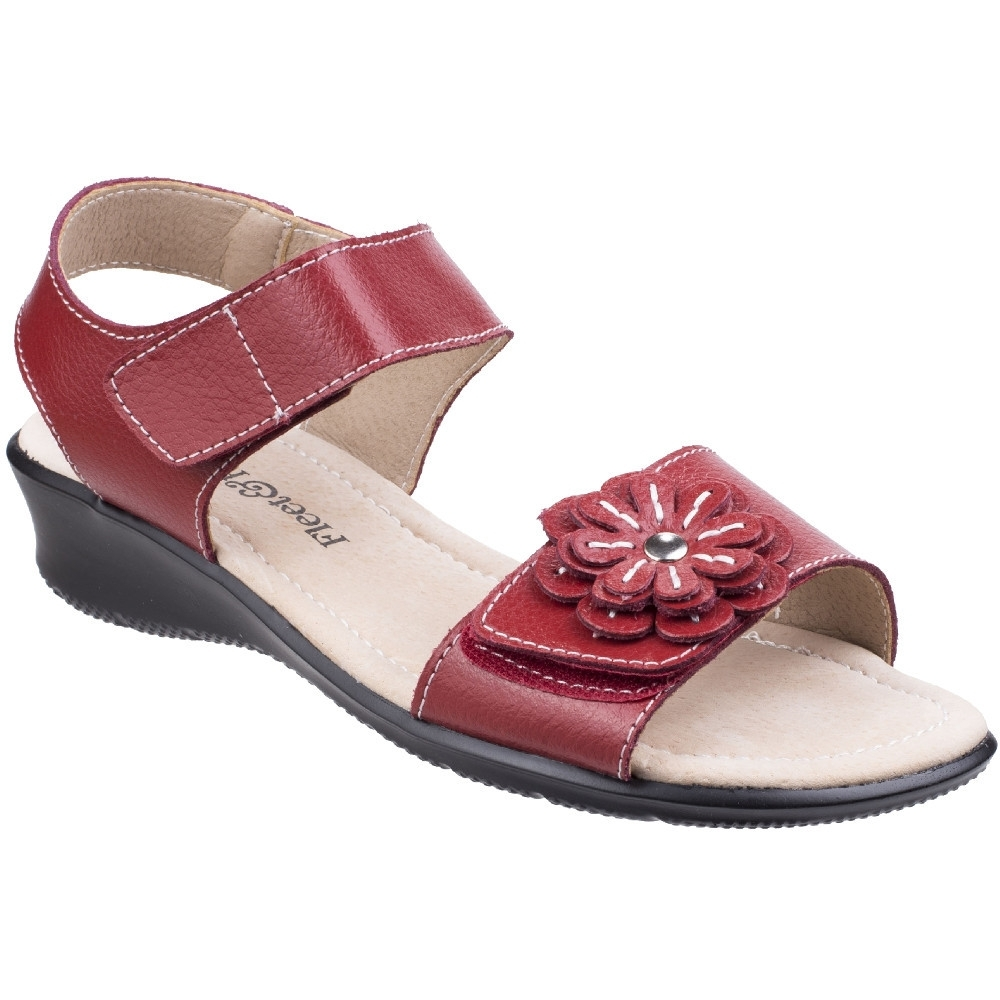 Fleet & Foster Womens/Ladies Sapphire Touch Fastening Comfort Sandals UK Size 6 (EU 39  US 8)