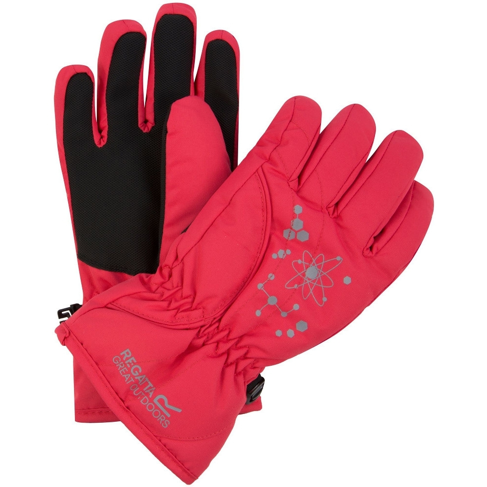 Regatta Boys & Girls Arlie II Waterproof Thermal Walking Winter Gloves 7-10 Years