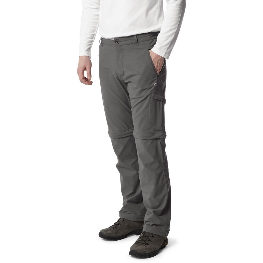 Craghoppers Mens Nosi Life Pro Convertible Zip Off Trousers 36XL - Waist 36' (91cm)  Inside Leg 35'