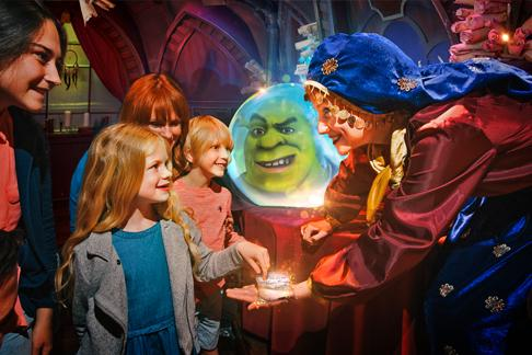 DreamWorks Tours Shrek's Adventure! + London Aquarium + FREE Tower Bridge