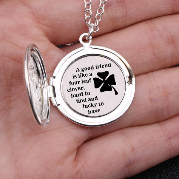 good friend necklace good friends are hard to find engraved locket necklace bff gift for friend
