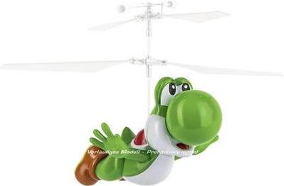 Carrera Toys Super Mario - Flying Cape Yoshi Ready-To-Fly (RTF) Elektromotor Ferngesteuerter Hubschrauber (370501033)