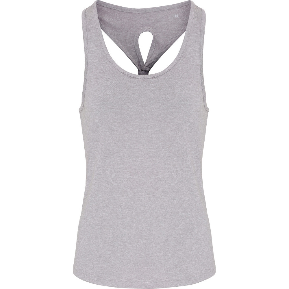 Outdoor Look Womens/Ladies Yoga Scoop Neck Knot Wicking Vest XL - UK 16