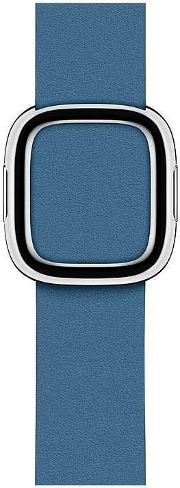 Apple 40mm Modern Buckle - Uhrarmband - Medium - cape cod blue - für Watch (38 mm, 40 mm) (MTQM2ZM/A)