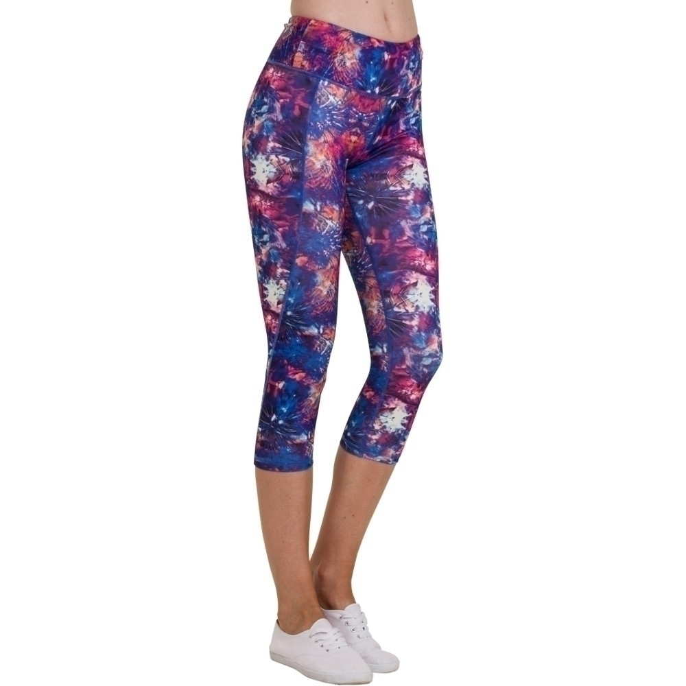 Outdoor Look Womens/Ladies Lomond Yoga Workout 3/4 Length Leggings S- UK Size 10