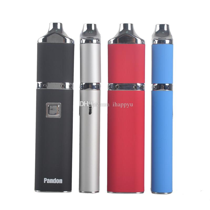 Original Yocan Pandon QUAD Wax Pen Starter Kit 1300mAh Battery Authentic 2 QDC Coils Tank vaporizer Kits 100% Genuine 2204028