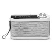 Classic 993 R9993 Analogue Portable Radio - White