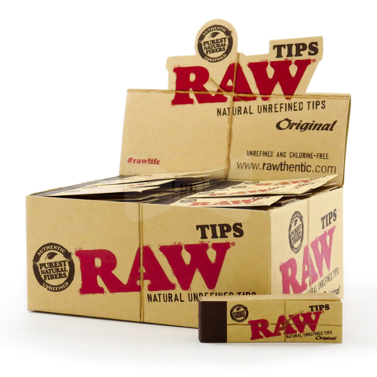 RAW Roll-Up Tips Box