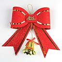 2018CM Christmas Decoration Bow with Bell