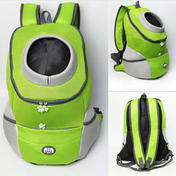 bag for dogs travel double shoulder backpack dogs bag carrying bleathable mesh pet carrier dog front chest backpack for hiking29