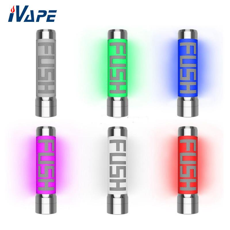 100% Original Acrohm Fush Semi-Mech LED Mod 26mm Light Color Changeable Tube Mod With ACE Chip USAGE Protection powered by 1 18650 battery