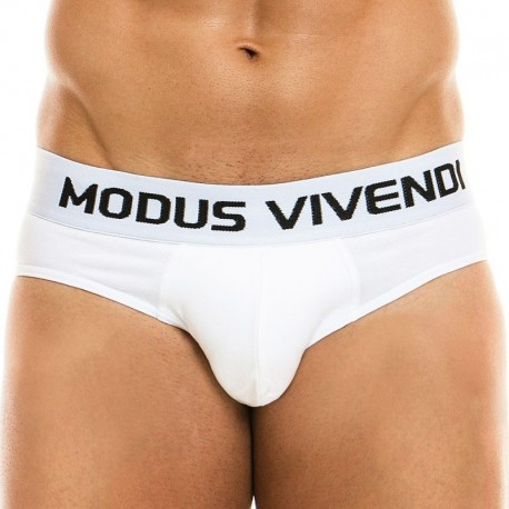 Modus Vivendi Classic Brief - White XL