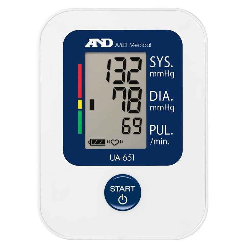 A&D Medical Digital Upper Arm Blood Pressure Monitor (UA651)