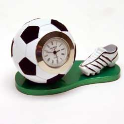 Miniature Clock Football and Boot