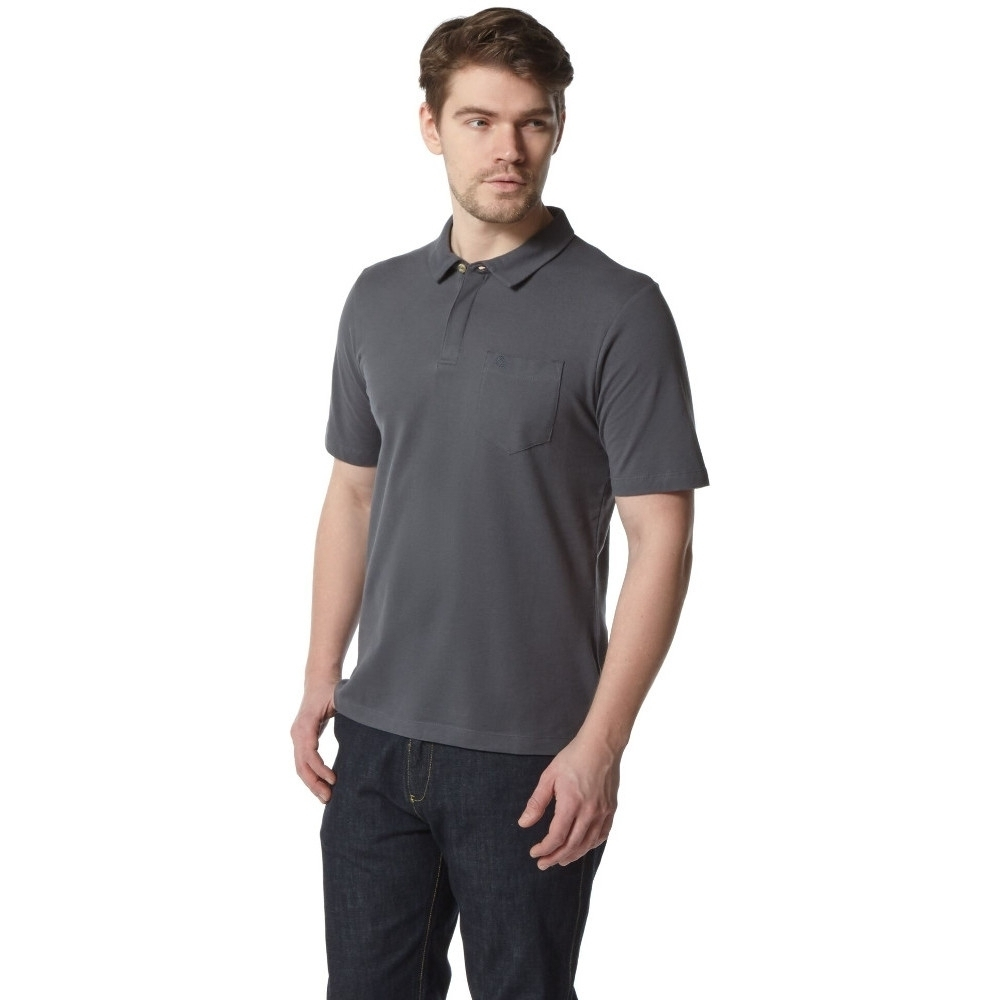 Craghoppers Mens Meran Short Sleeve Casual Polo Shirt M - Chest 40' (102cm)
