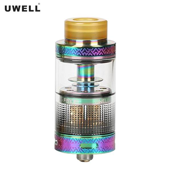 Authentische Uwell Fancier 4ML RTA / RDA 24mm REBUILDABLE Beh?lter Dripping Atomizer - schillernde Regenbogen