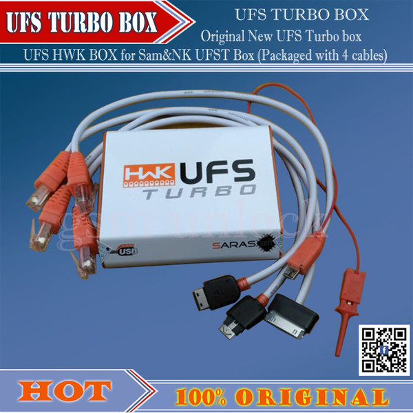 gsmjustoncct original new ufs turbo box hwk for sam ufst packaged with 4 cables