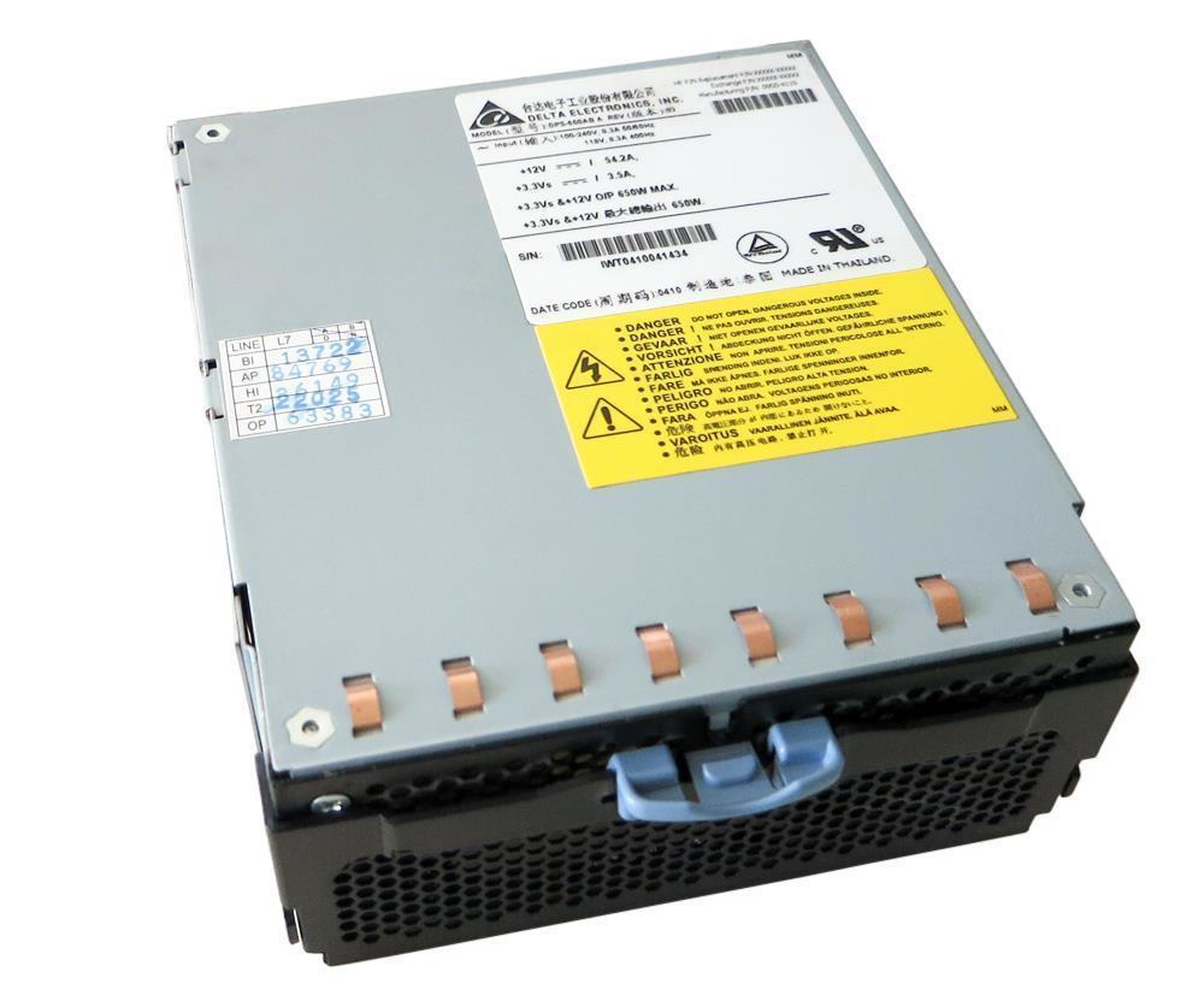 Delta - Power Supply Module - Netzteil - DPS-650AB A - 650 Watt - 0950-4119 - A6874A