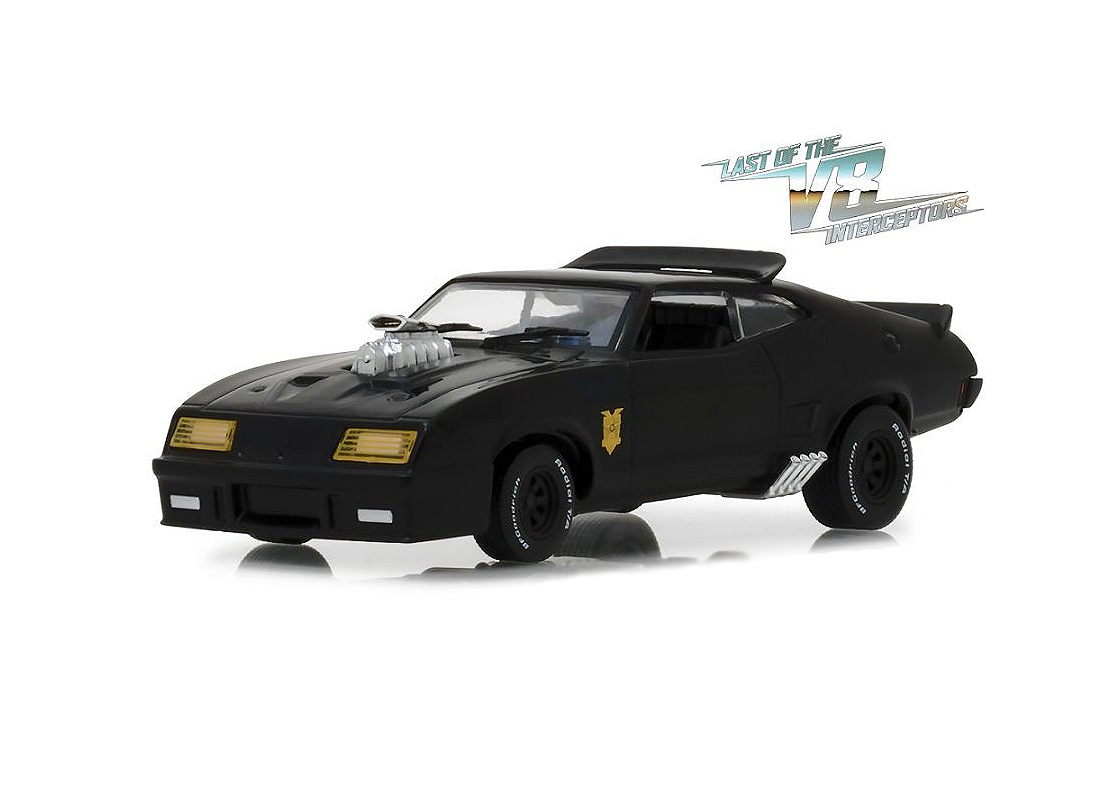 Ford Falcon XB (Last Of The V8 Interceptors) in Black (1:43 scale by Green Light Collectibles GL86522)