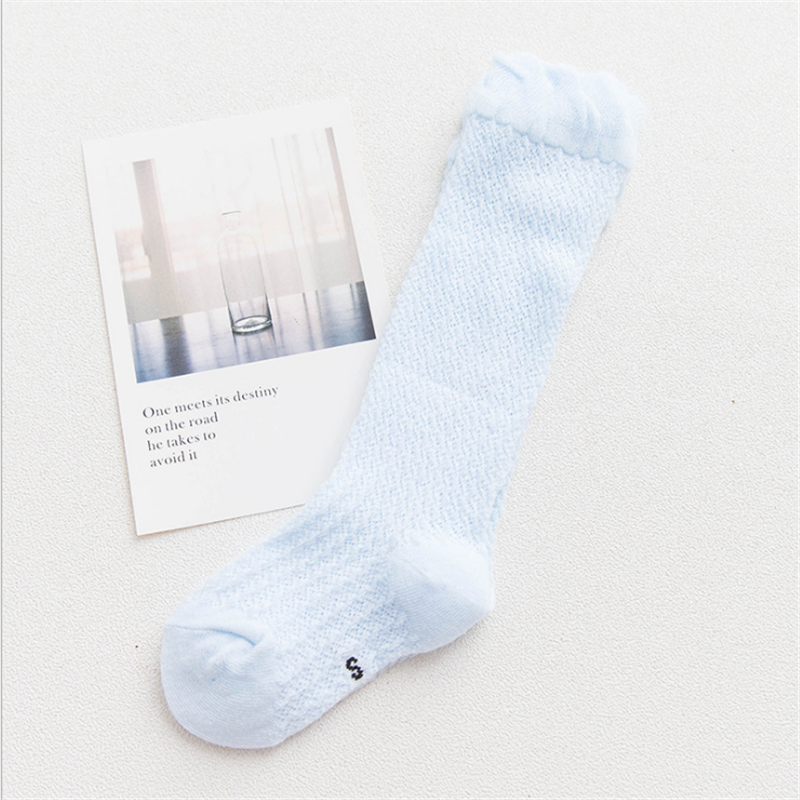 Baby / Toddler Solid Breathable Over-knee Mesh Socks