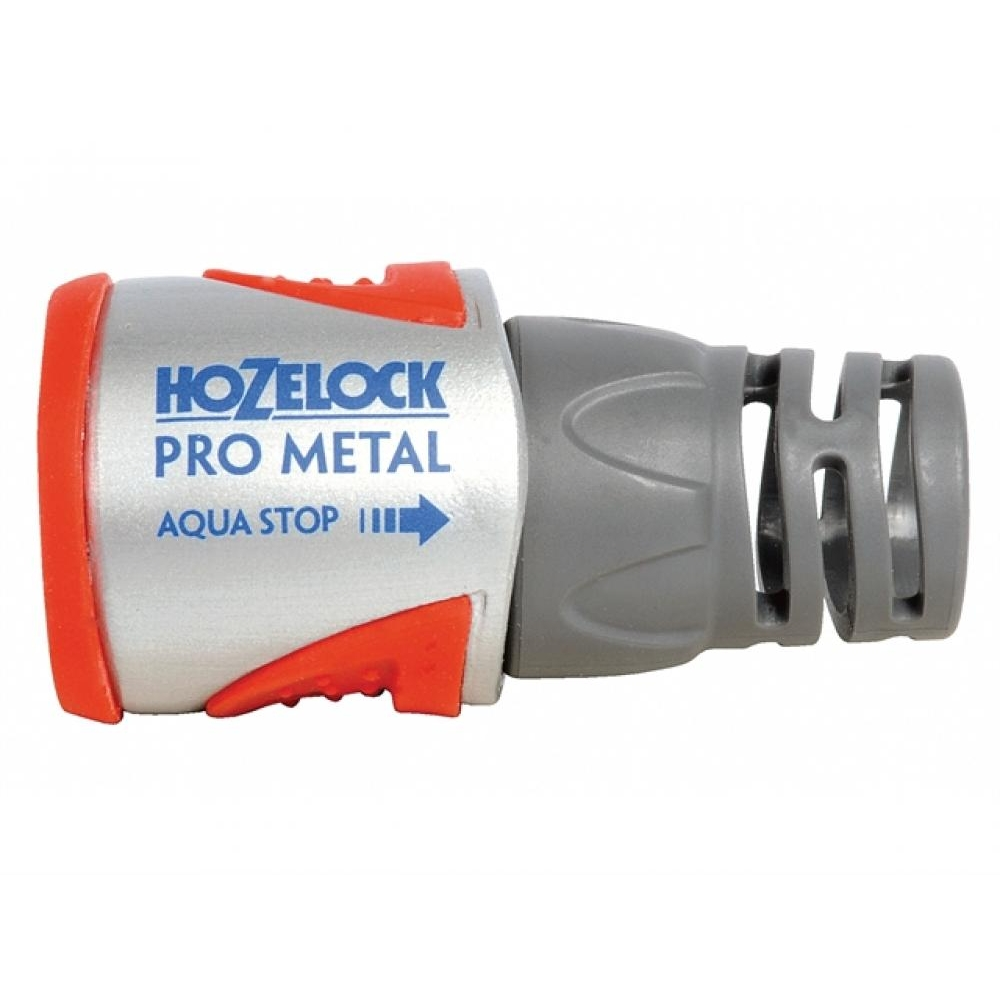Hozelock 2035 Pro Metal Aquastop Hose Connector 12.5 - 15mm