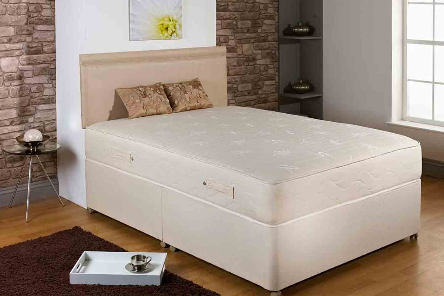 Joseph Comet Divan Bed-Double-Non Drawer