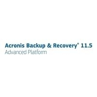 Acronis Backup & Recovery Virtual Edition for Multi-Hypervisor - (v. 11.5) - Lizenz für einen Versions-Upgrade + 1 Year Advantage Standard - 1 Host - Volumen - 1-9 Lizenzen - ESD - Linux, Win - Deutsch - mit Universal Restore