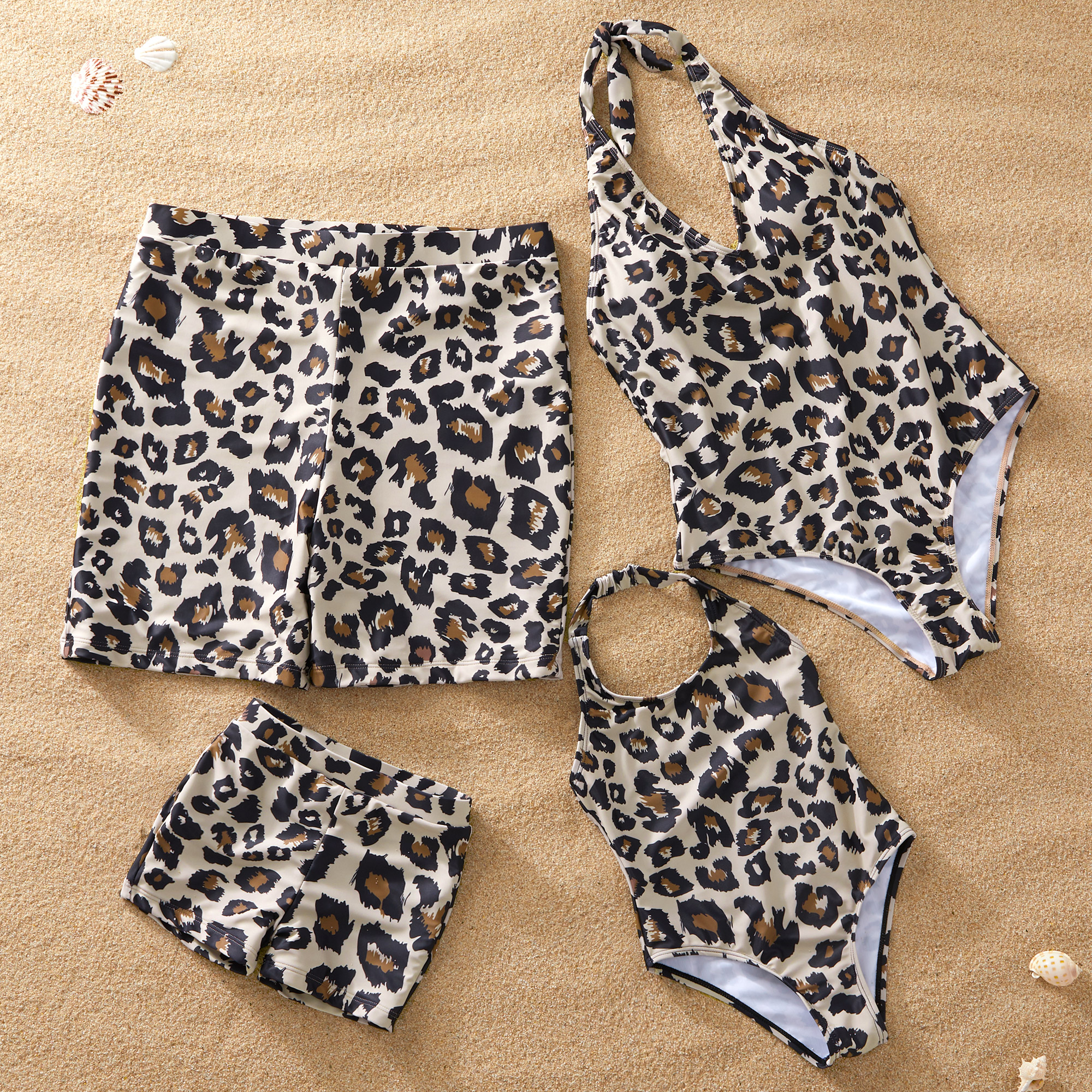 Leopard Swimsuit for Family