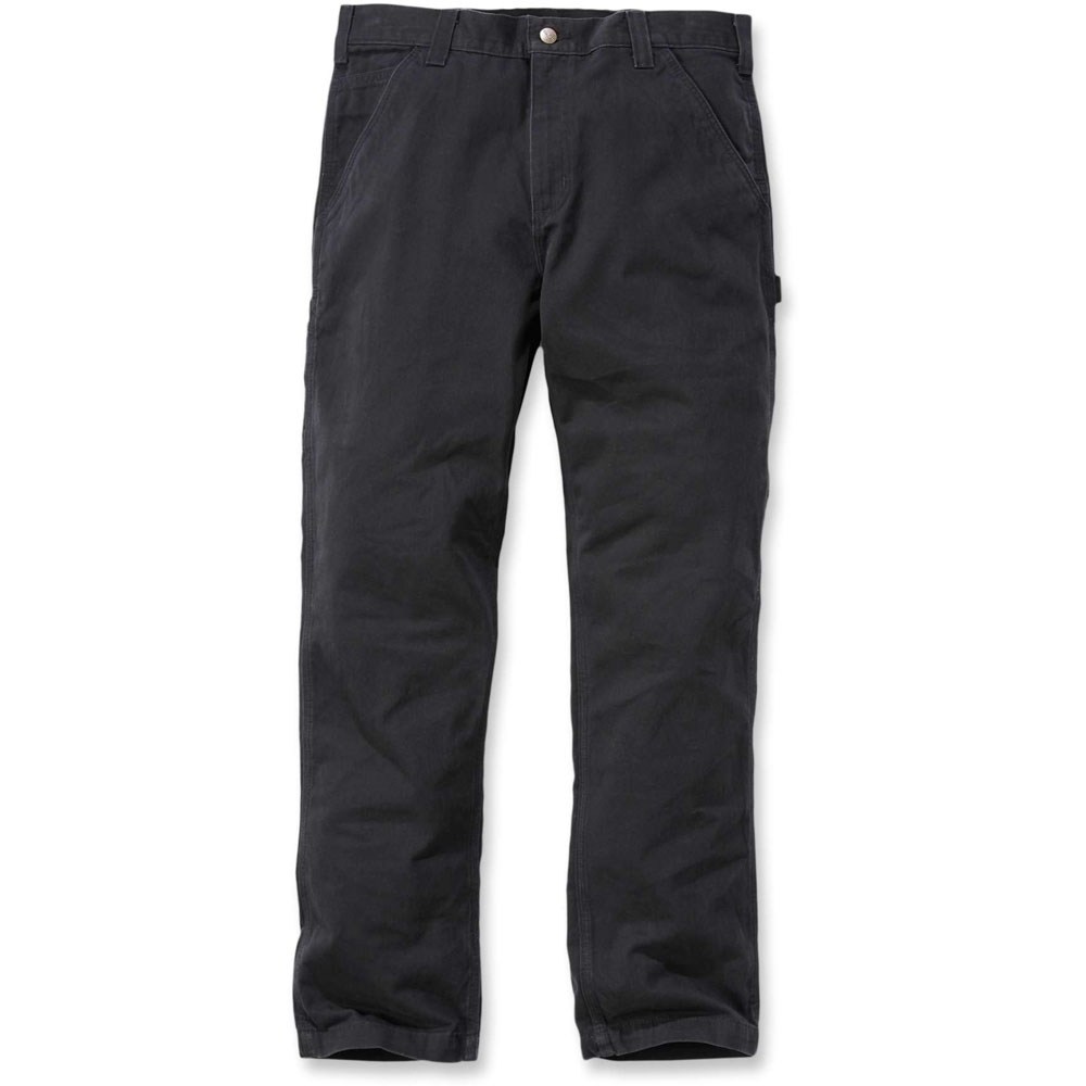 Carhartt Mens Washed Twill Relaxed Cotton Dungaree Pants Trousers Waist 36' (91cm)  Inside Leg 34' (86cm)