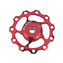 Bike Derailleurs Bike Guide Wheel Cycling Durable For Cycling Bicycle Road Bike Mountain Bike MTB Aluminum Alloy Red Blue Golden