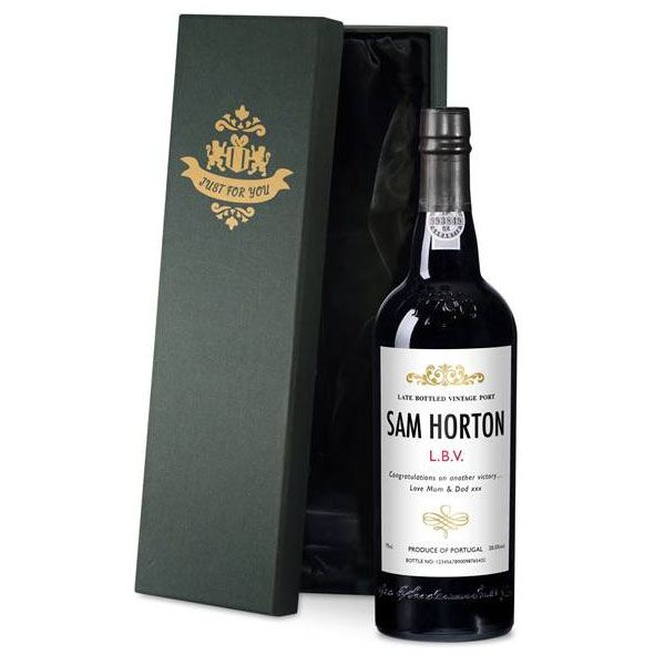 Personalised Port Luxury Gift Box