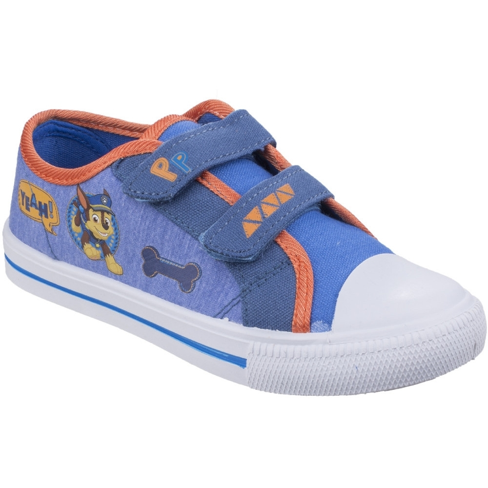 Leomil Boys & Girls Chase Lightweight Canvas Fashion Trainers Shoes UK Size 11.5 (EU 30)