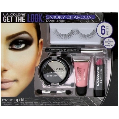 LA Colors Get The Look Smoky Charcoal Make Up Kit