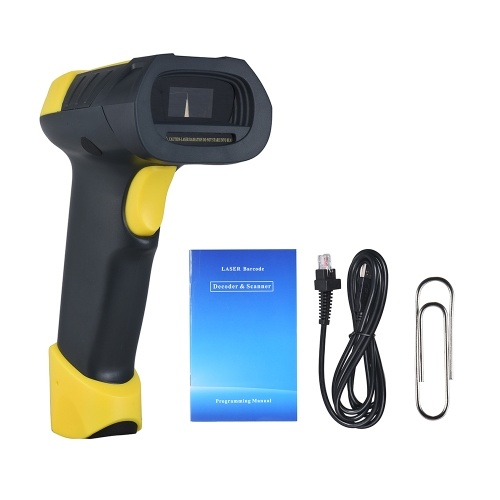 Aibecy A8 Handheld USB Barcode Scanner Bar Code Reader for Mac Windows Android Linux