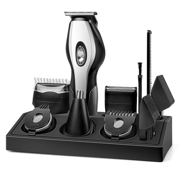 beard trimmer men beard trimmer kit with stand waterproof 11 in 1 multifunctional grooming set with hair clipper