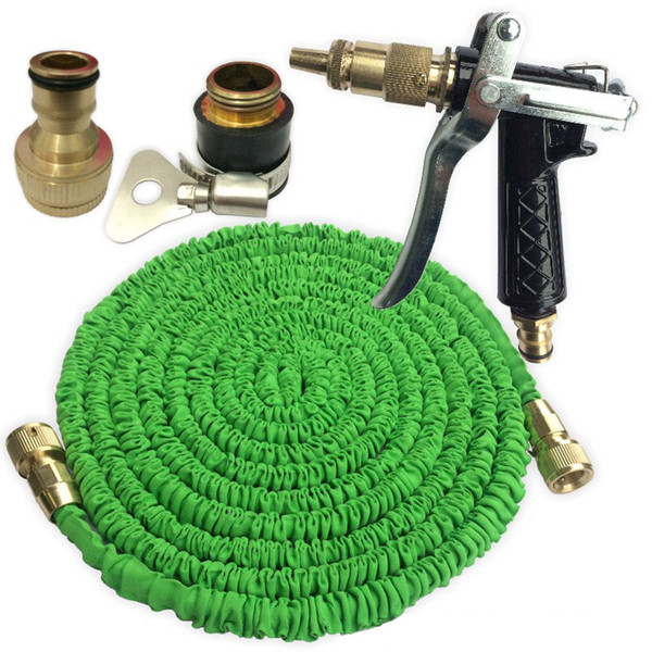 garden hose 25-150ft expandable magic flexible garden water hose set for car pipe plastic hoses to watering with spray gun