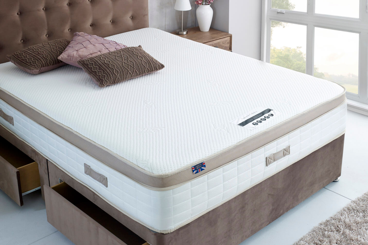 Posture Flex Foam & Memory Foam Orthopaedic Mattress-Single
