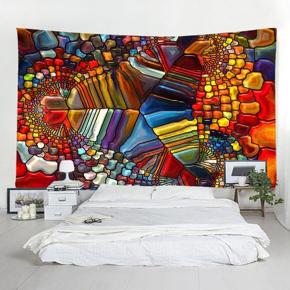 Home Decoration 3D Abstract Tapestry