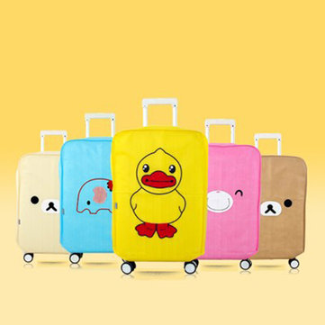 Cute Animals Anti-dust Cover High-end Thickening Trolley Case Waterproof Wear Protection