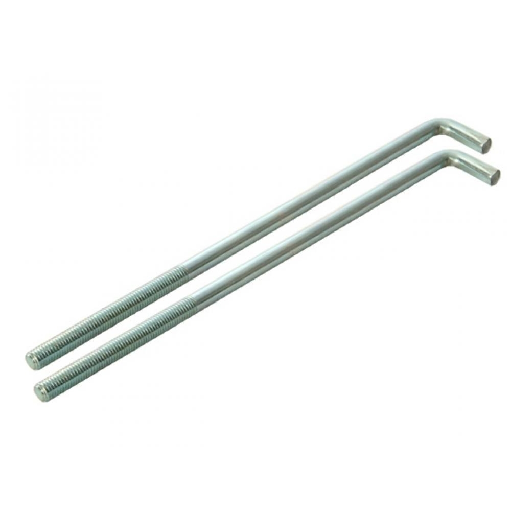 Faithfull External Building Profile - 350 mm 14 inch Bolts Pack of 2