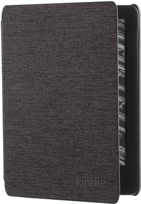 Amazon.com Amazon - Flip-Hülle für Tablet - premium fabric - Charcoal Black (B07K8J59VP)