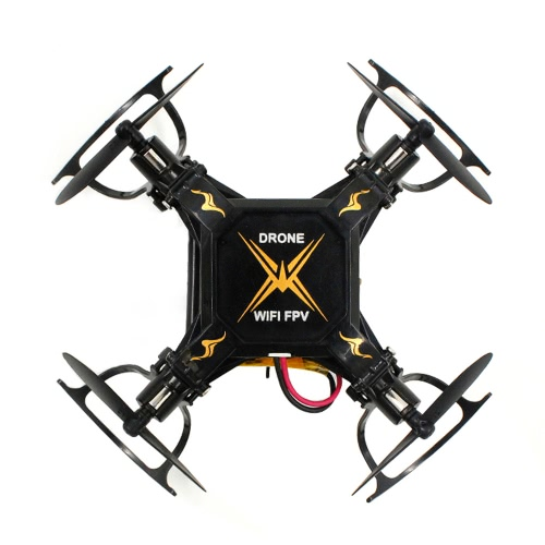Sbego 127W 2.4G 4CH 6-Achsen-Gyro 0.3MP Wifi FPV Faltbare RC Quadcopter RTF Drone mit 3D-Flip Headless Modus und One-Key Return