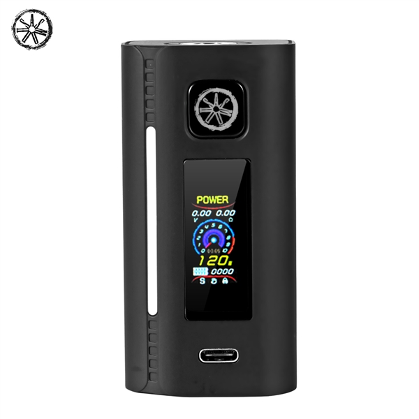Presell Authentic asMODus Lustro 200W GX-200-H?TTE Chipset-Screen-Box Mod - Schwarz