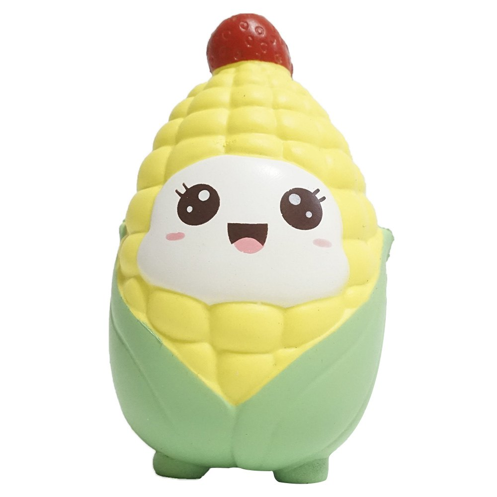 Jumbo Squishy Slow Rebound Toy Corn for Relieving Stress