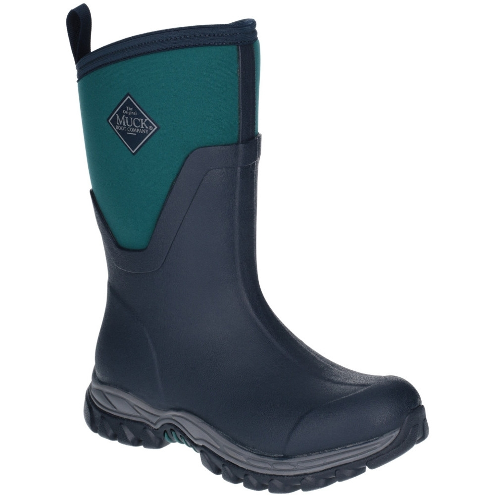 Muck Boots Womens/Ladies Arctic Sport Mid Fleece Wellington Muck Boots UK Size 9 (EU 43)