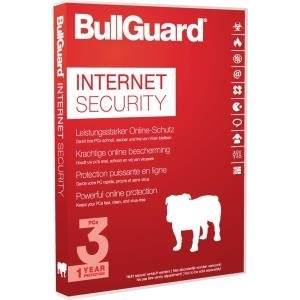 BullGuard Internet Security 2017 - Box-Pack (1 Jahr) - 3 Geräte - Win (BG1607)