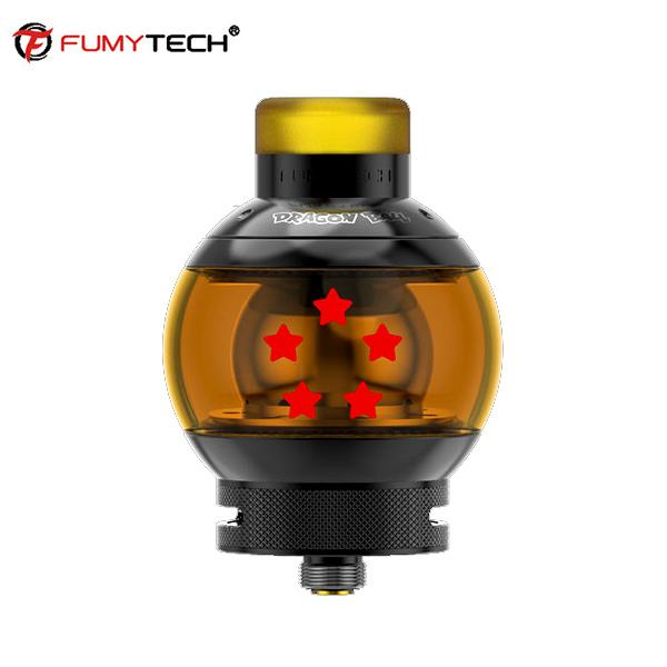 Authentische Fumy-tech Dragon Ball RTA V2 II 5.5 ML Zerlegbar Beh?lter-Zerst?uber-35MM 24MM - Schwarz