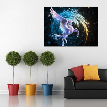 Pegasus 5D Diamond DIY Painting Embroidery Cross Stitch Home Wall Craft Decor