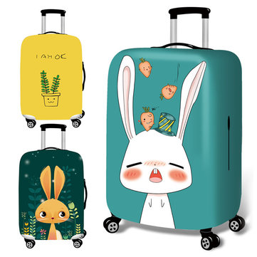 Honana Cute Cartoon Rabbit Elastic Luggage Cover