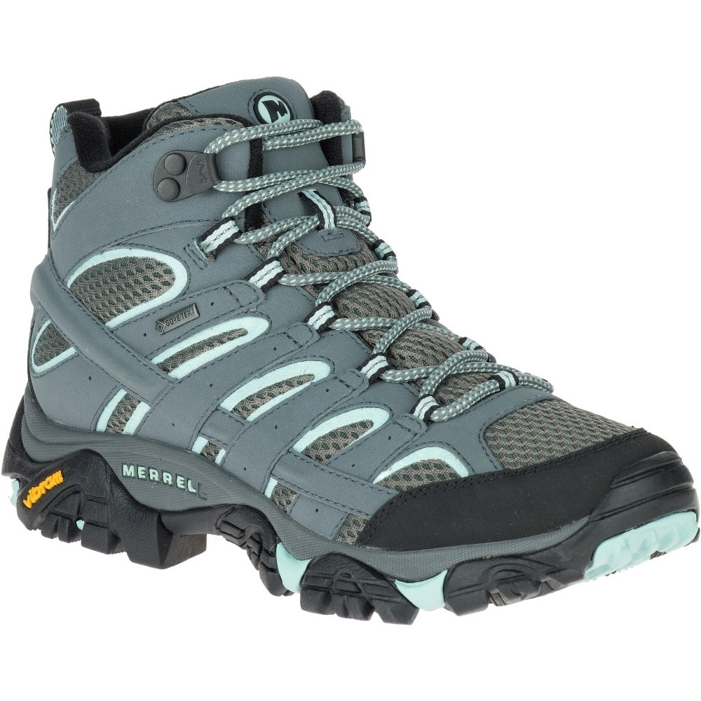 Merrell Womens/Ladies Moab 2 Mid Ankle Gore Tex Hiking Walking Boots UK Size 4 (EU 37  US 6.5)